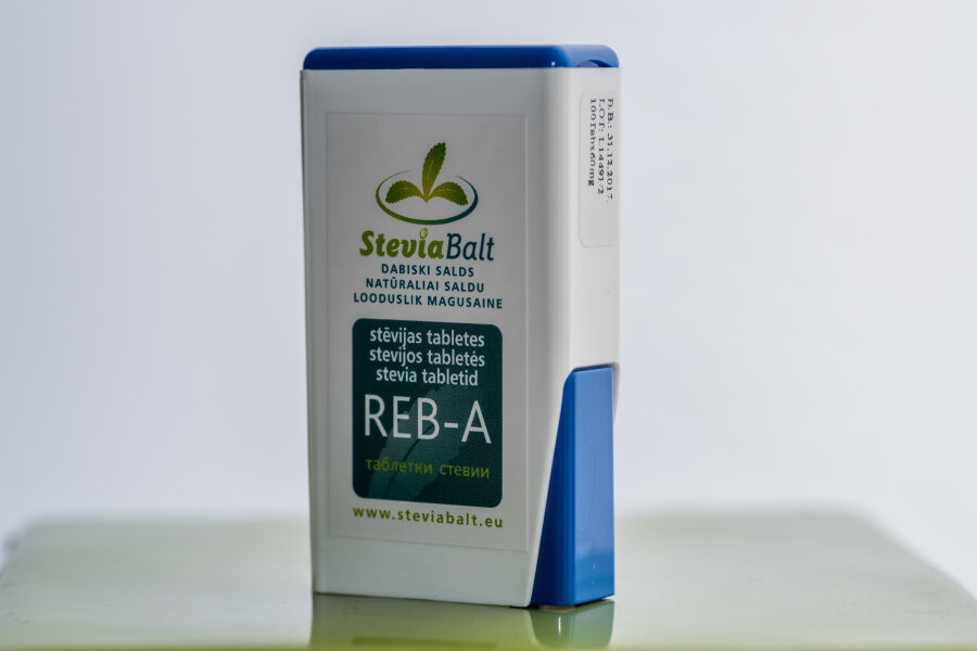 Stēvija tabletes 100 ar dozatoru