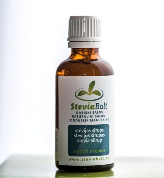 Stēvijas koncentrāta sīrups 50ml