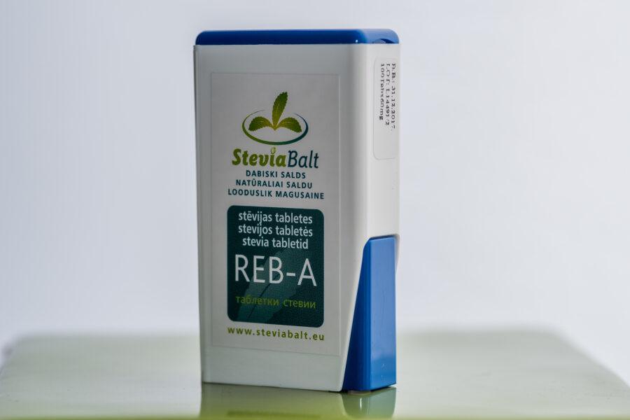 Stēvijas tabletes 600 ar dozatoru